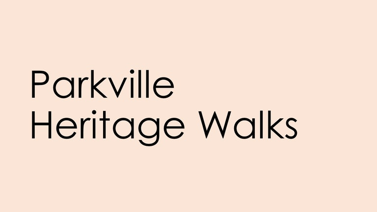 Thumbnail for Parkville Heritage Walks