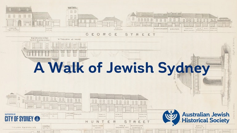 Thumbnail for A Walk of Jewish Sydney