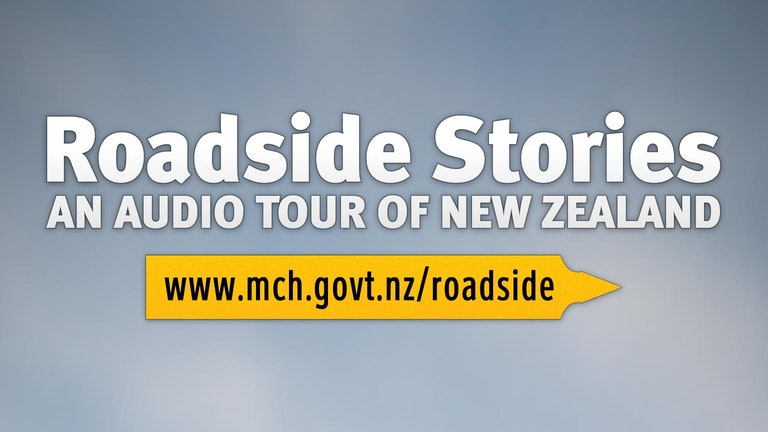 Thumbnail for Roadside Stories - an audio tour of New Zealand