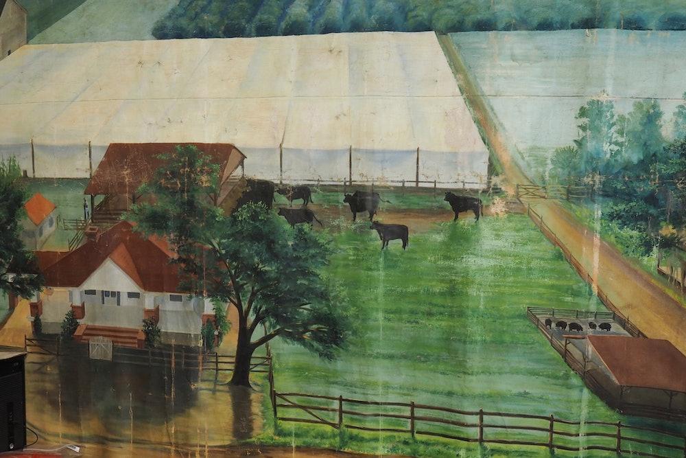 <p>Bert farm mural</p>