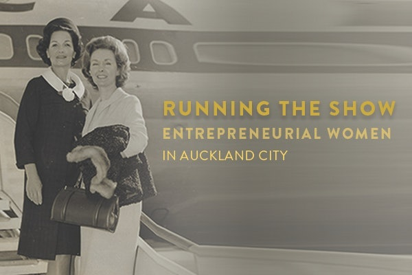 <p>Running the Show: Entrepreneurial women in Auckland city</p>