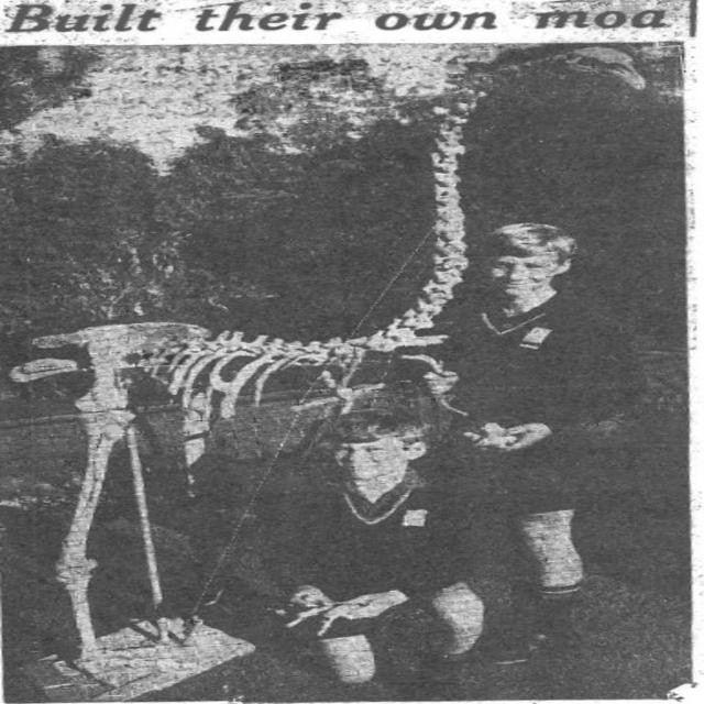 <p>Photograph of Ray and Chris (13 years old at the time) taken by reported for Daily Telegraph 1969.</p>