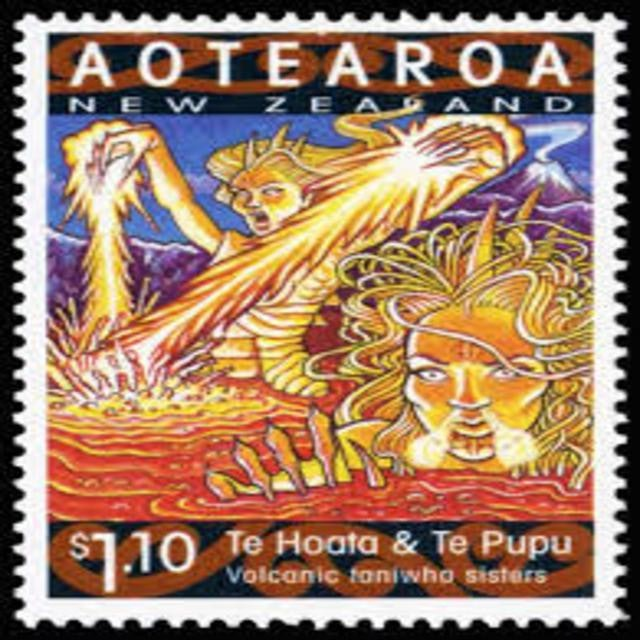 <p>Te Hoata and Te Pupu - The Volcanic Taniwha Sisters (July, 2013)</p>