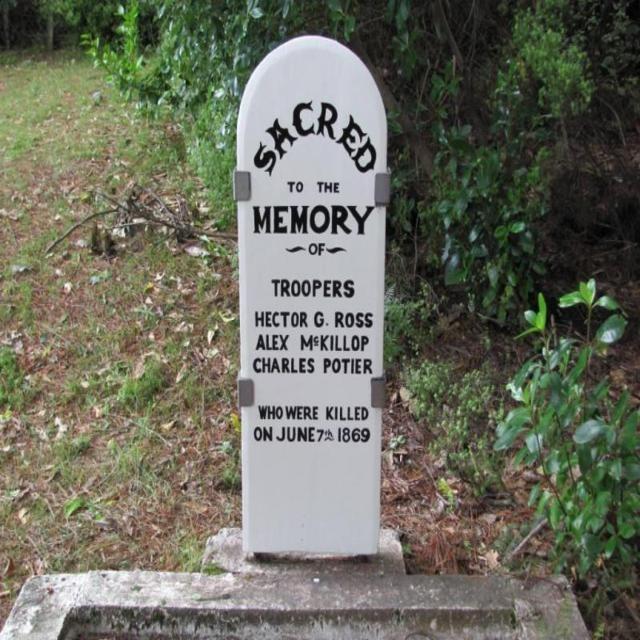 <p>Manatū Taonga (7th October, 2019). Ōpepe Graves.</p>
