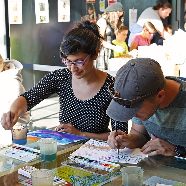 <p>TAM Studio is free to visit; creators and artists of all ages are welcome.</p>