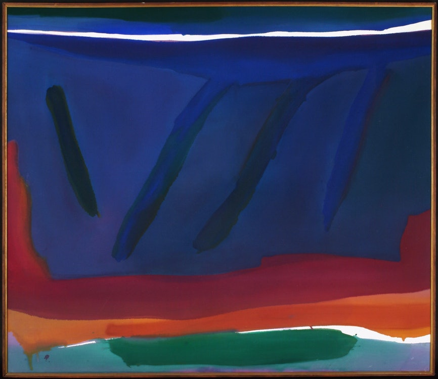 <p>Gretchen ALBRECHT (b.1943), Drift, 1976, acrylic on canvas, Victoria University of Wellington Art Collection, purchased 1976. Image courtesy of the Victoria University Art Collection.</p>