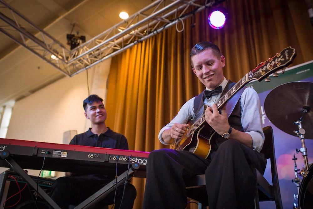 <p>Jazz students at NZSM. </p>