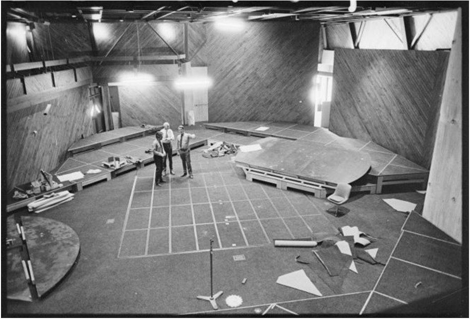 <p>The Hannah Playhouse auditorium, 6 October 1973.</p>