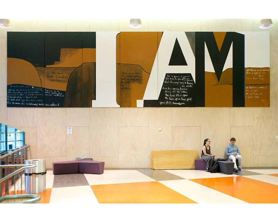 <p>Colin MCCAHON (b.1919, d.1987), <em>Gate III</em>, 1970, acrylic on canvas, 305 x 1067.5 cm, Victoria University of Wellington Art Collection, purchased with assistance of the Queen Elizabeth II Arts Council, 1972.</p>