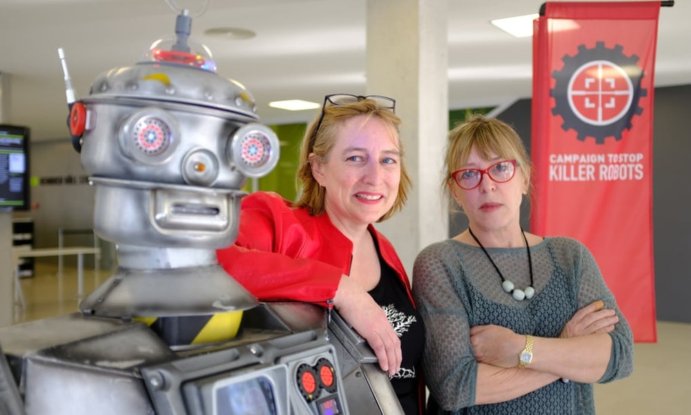 <p>Jody Williams and the Campaign to Stop Killer Robots</p>