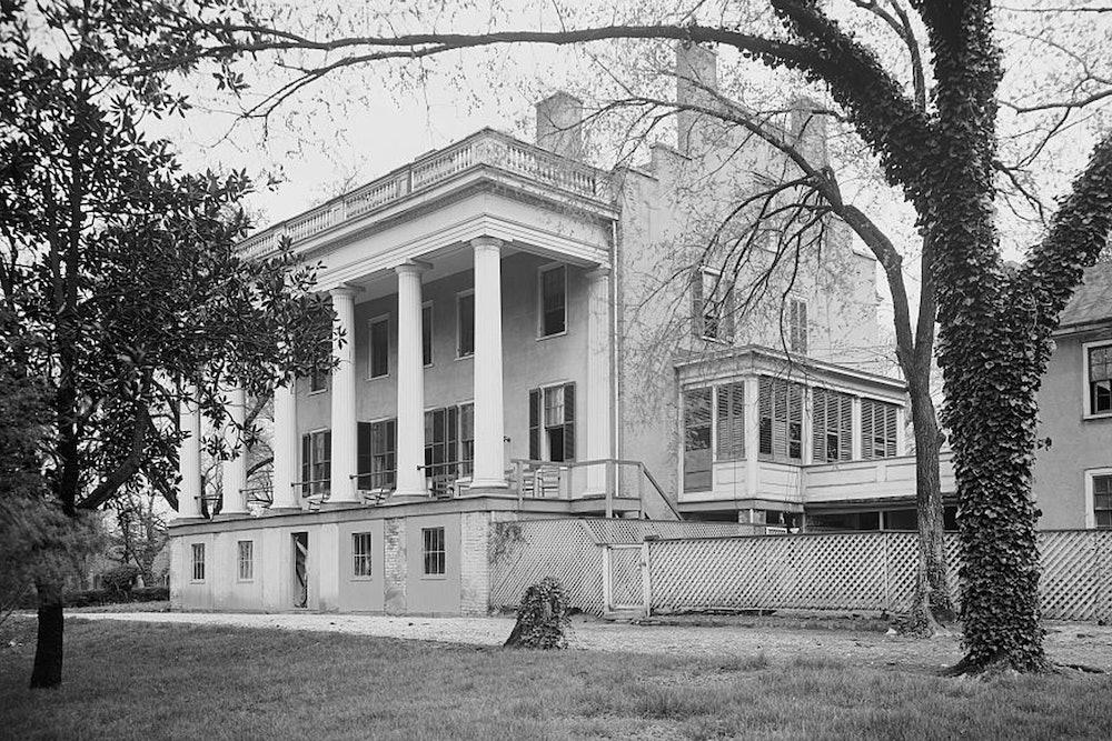 <p>Adams Van Lew mansion, Richmond, Va.</p>