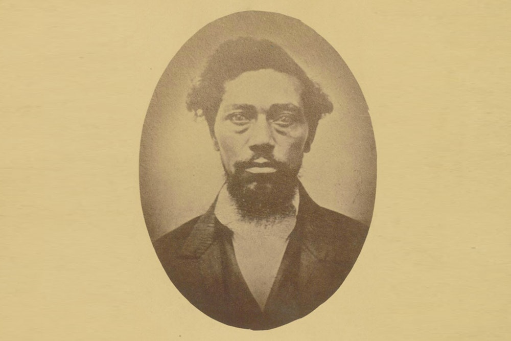<p><strong>Portrait of Dangerfield Newby taken in 1859</strong></p>