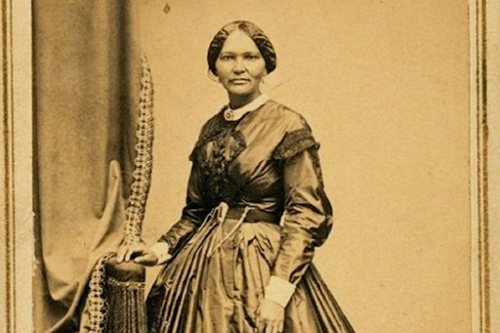 <p>Elizabeth Keckley, 1861, dressmaker to Mary Todd Lincoln.</p>