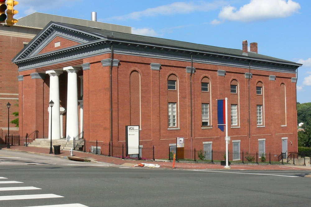 <p>The old First African Baptist Church in Richmond, Virginia; on the National Register of Historic Places. The church building is now a property of VCU Medical Center, Medical College of Virginia.</p>