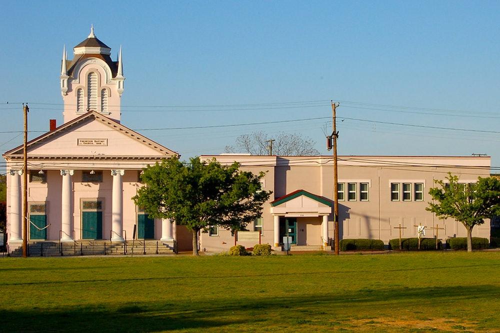 <p>Ebenezer Baptist Church</p>