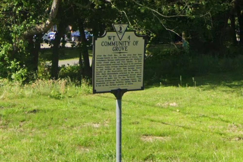 <p>Community of Grove Historical Marker</p>