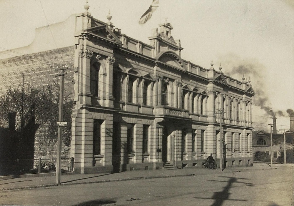 <p>James Craigie was personally instrumental in securing a grant for the construction of the original Carnegie Library. The facade still stands as part of the current Council building.</p>