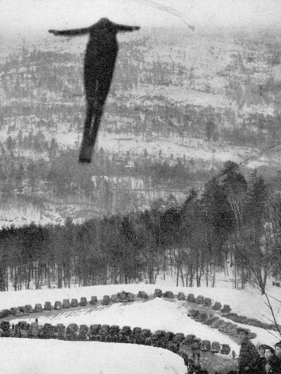 <p>Harris Hill Ski Jumper</p>