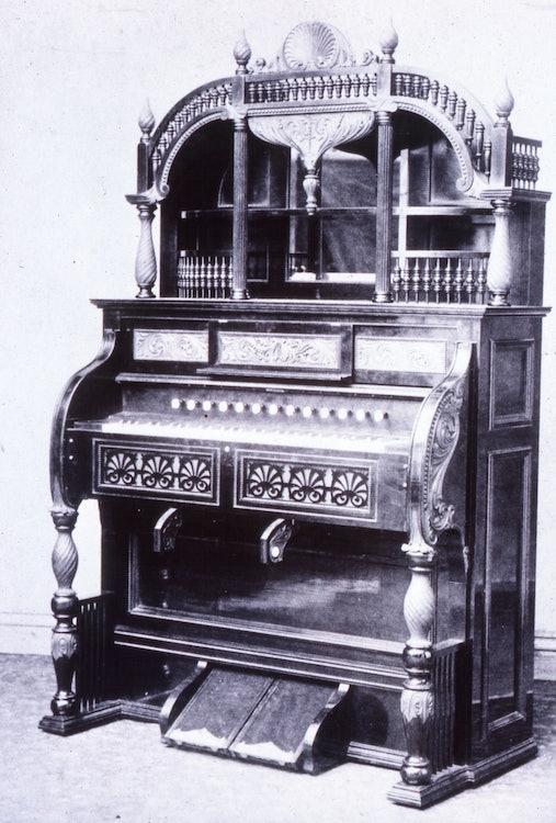 <p>The Estey Organ - photo courtesy Estey Organ Museum</p>
