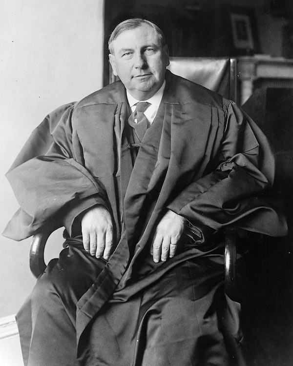<p>Chief Justice Harlan Fiske Stone (public domain photo)</p>