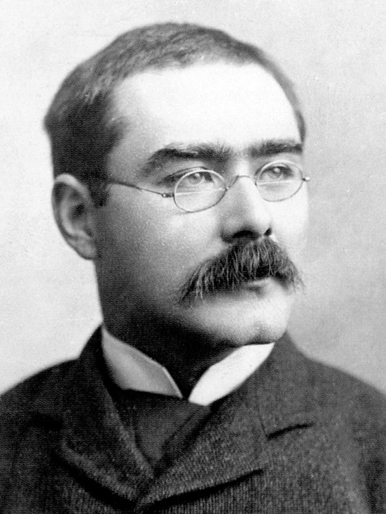 <p>Rudyard Kipling - portrait. Photo courtesy: Landmark Trust USA</p>