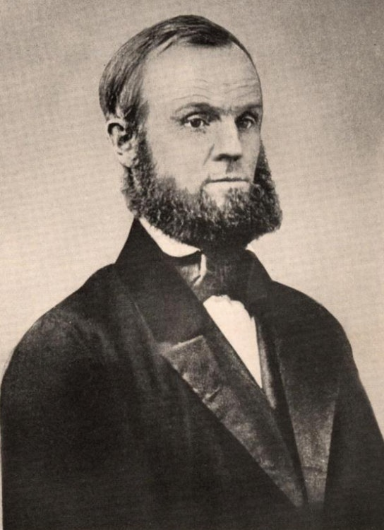<p>John Humphrey Noyes - portrait</p>