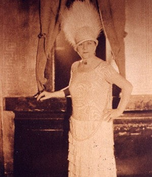 <p>Madame Sherri - photo: Brattleboro Historical Society</p>