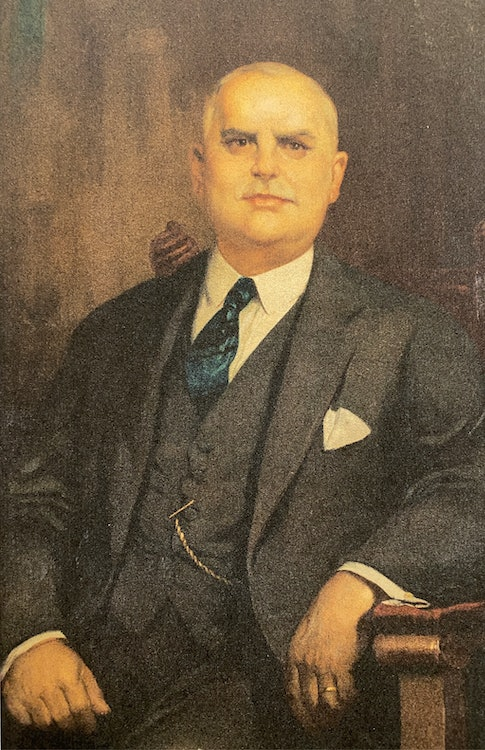 <p>Demetrios Latchis, family patriarch who started the theater empire. Courtesy: Latchis Arts</p>