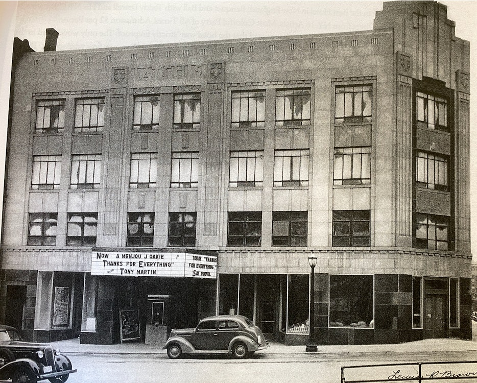 <p>The Latchis Theatre in 1938 shortly after it opened. Courtesy: Latchis Arts</p>