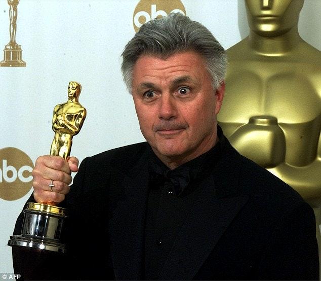 <p>John Irving - Oscar winner</p>
