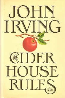 """<p>Cover of """"Cider House Rules"""" by John Irving</p>"""