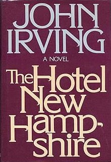 """<p>Cover of """"The Hotel New Hampshire"""" by John Irving</p>"""