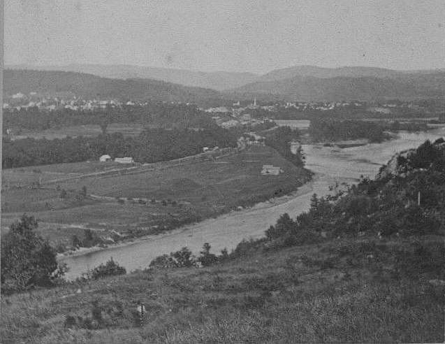 <p>Henry Photograph of Ft Dummer area In 1860s</p>