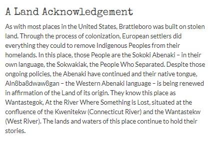 <p>Land Acknowledgement</p>