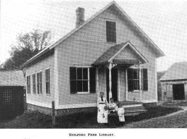 <p>Guilford Library - 1899 courtesy Guilford Free Library </p>