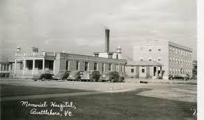 <p>Brattleboro Memorial Hospital 1955 - Brattleboro Historical Society</p>