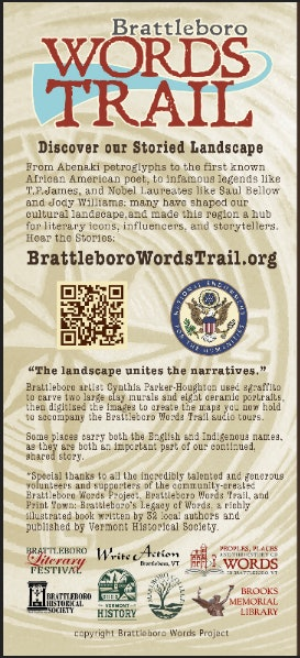 <p>Brattleboro Words Trail - Invitation </p>
