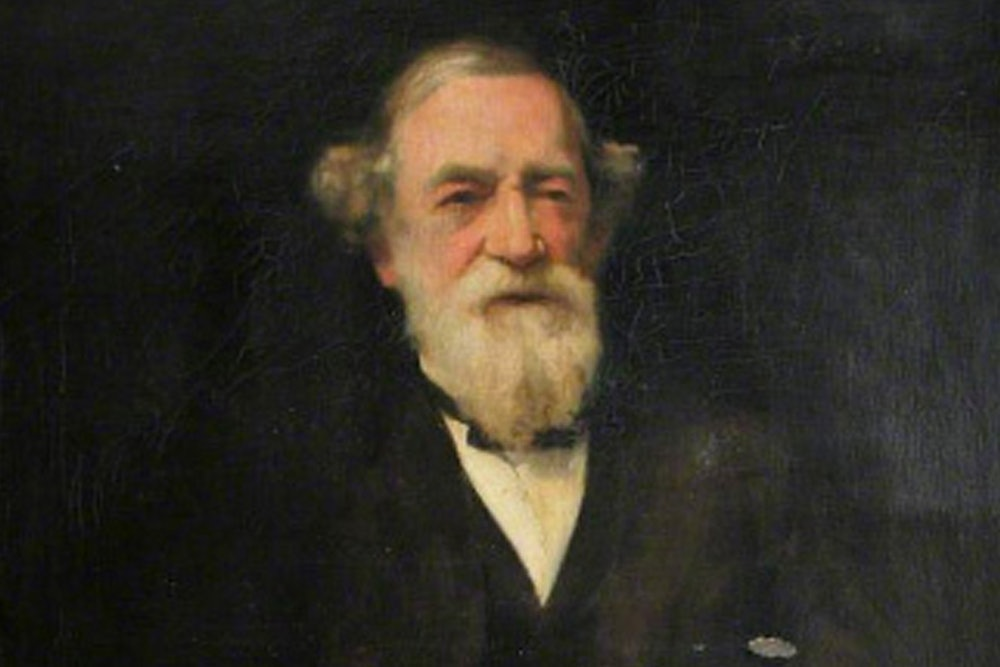 <p>Portrait of Moncure Conway by Clara Taggart MacChesney </p>