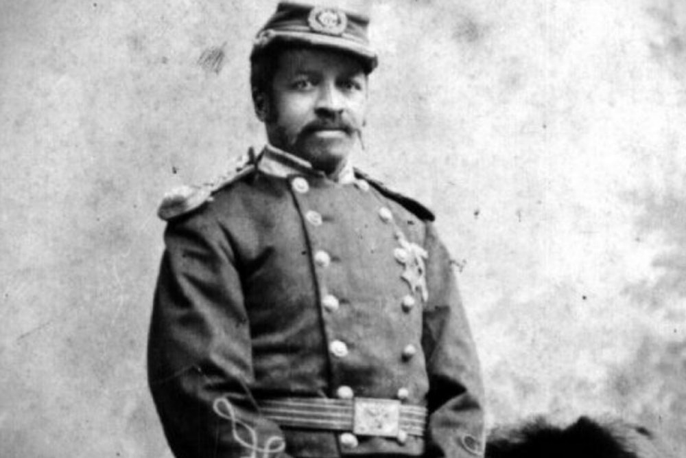 <p><strong>Sgt. Maj. Christian Fleetwood was one of fourteen USCT to </strong><strong>receive</strong><strong> the Medal of Honor for his valor at New Market Heights. </strong></p>