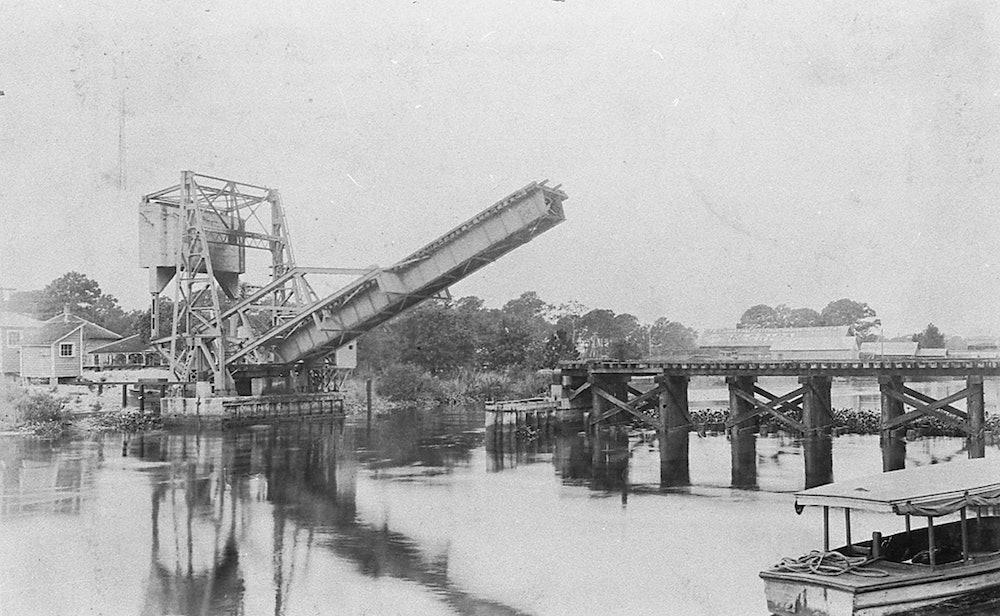 <p>Florida East Coast Railway bridge across New River.</p>