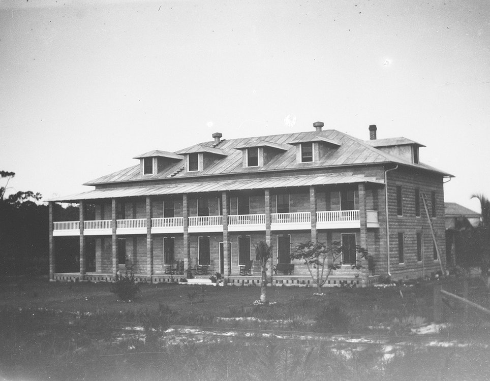 <p>New River Hotel (New River Inn), 1907.</p>