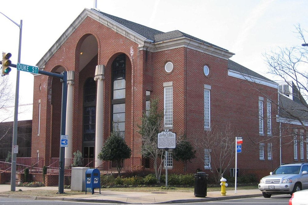 """<p><strong>""""Alfred Street Baptist Church, Alexandria, Virginia"""" by eli.pousson is licensed under CC BY-SA 2.0</strong></p>"""
