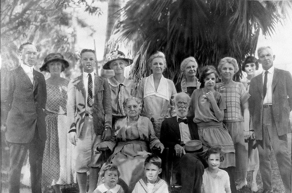 <p>Bryan family photo ca. 1921</p>