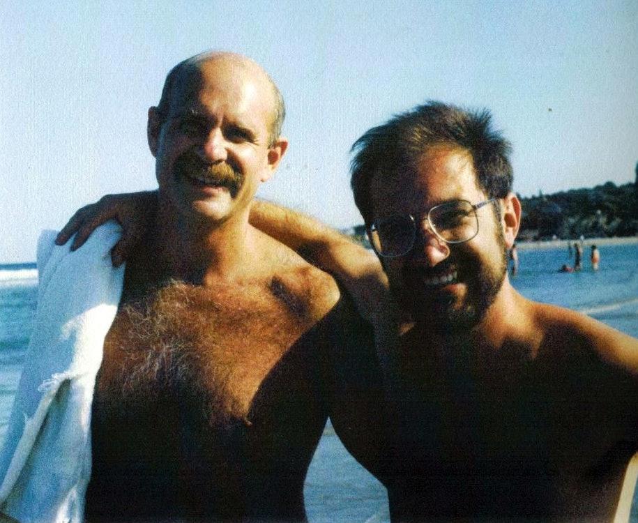 <p>John and Andy. Photo courtesy of the Kopkind Colony</p>