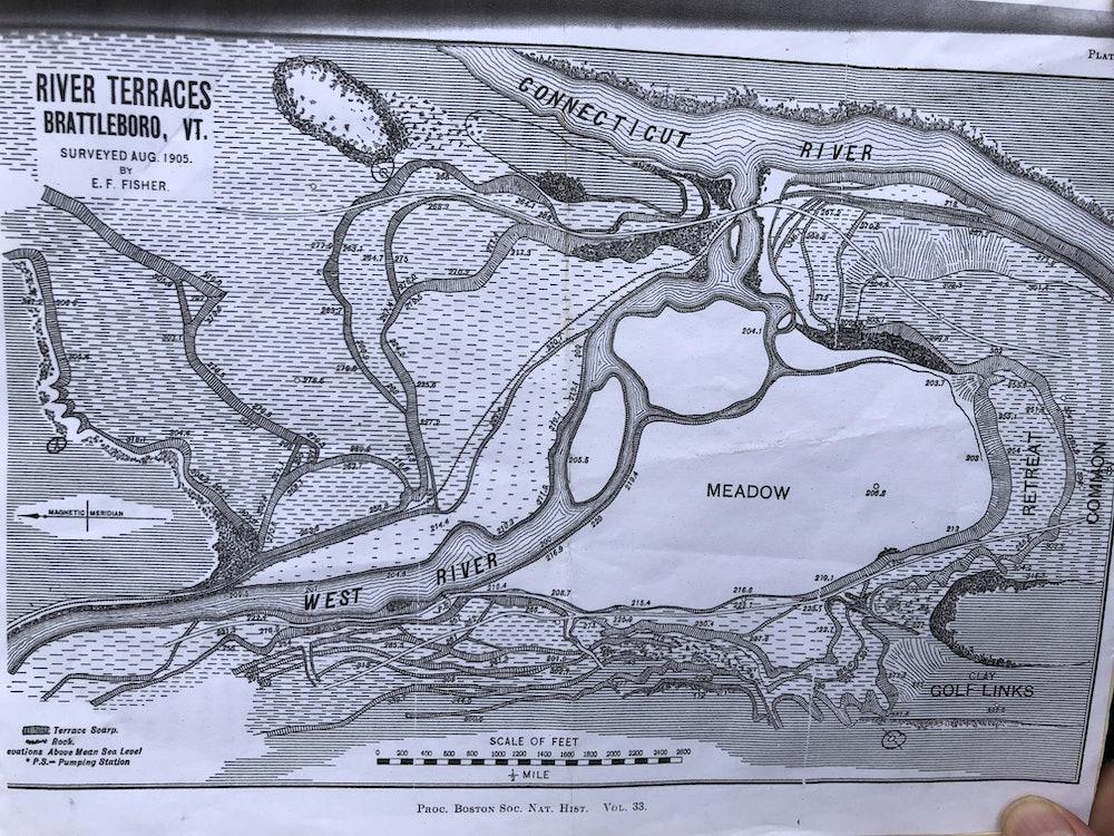 <p>River Terraces map - Elizabeth F. Fisher</p>