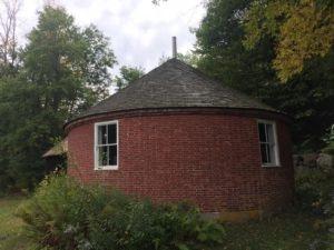 <p>Historic Round Schoolhouse, Brookline Vermont. Photo: Tim Weed</p>