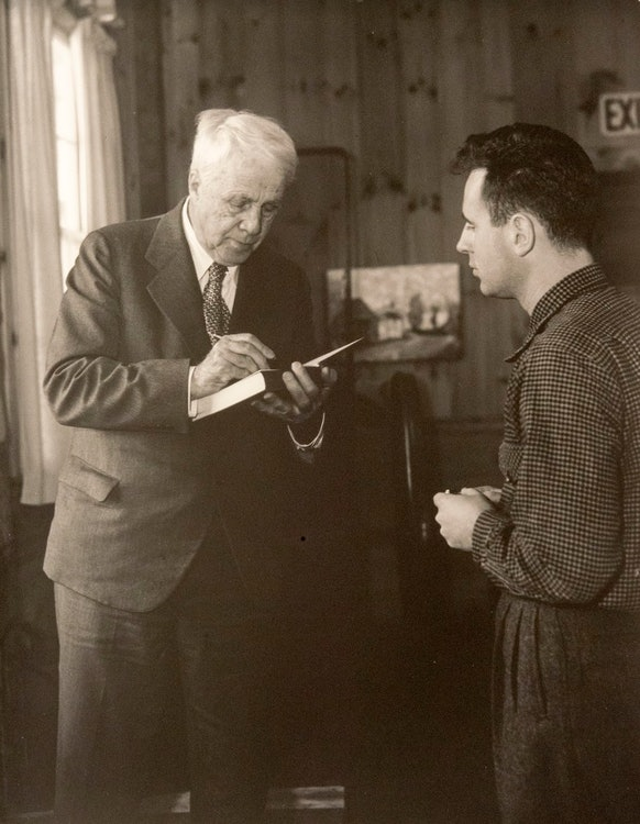 <p>Robert Frost</p>