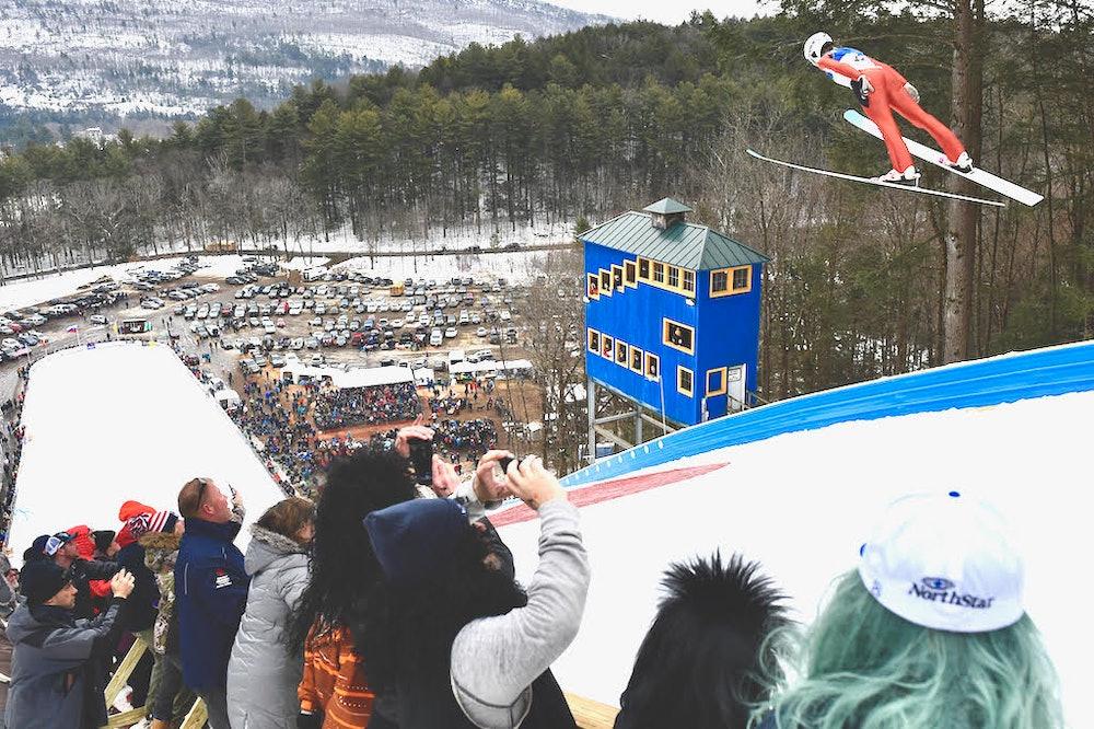 <p>Harris Hill Ski Jumper Photo by Steven McLaughlin</p>