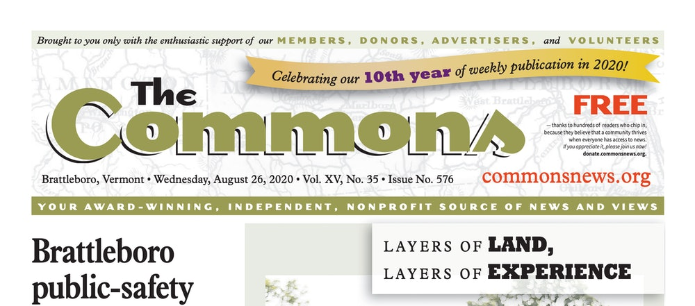 <p>The Commons - 10th anniversary banner</p>