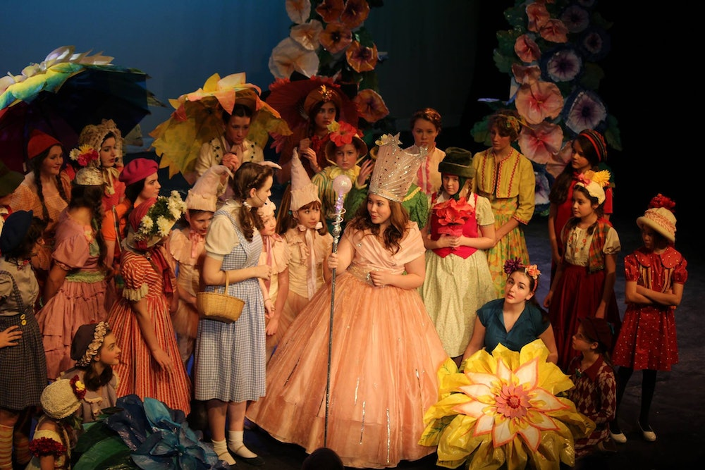 <p>Wizard of Oz- performance at New England Youth Theater (NEYT) - photo courtesy of NEYT</p>